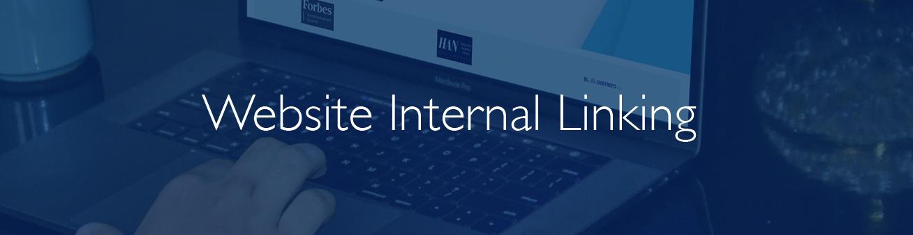 website internal links